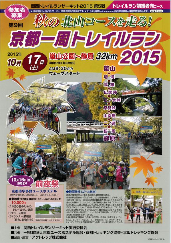 京都一周トイレイルラン2015