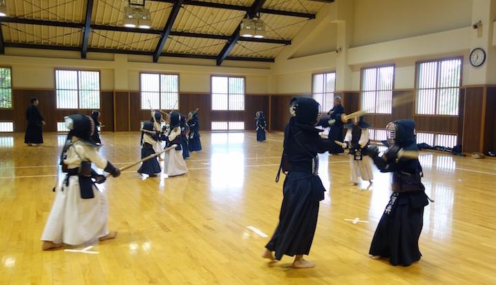 剣道練習風景